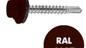 Кровельные RAL 8017
